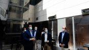 El consejero de Economía, Empleo y Competitividad en funciones visita uno de los proyectos del Programa de Rehabilitación Energética de Edificios
